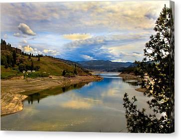 Spokane River Canvas Print by Robert Bales