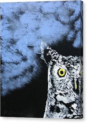 Spook Canvas Print by Harold Greer