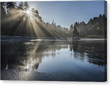 Spoon Of Morning Light Canvas Print by Jon Glaser