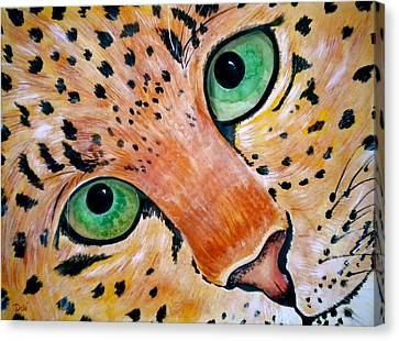 Spotted Canvas Print by Debi Starr