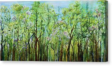 Spring Arpeggio Canvas Print by Regina Valluzzi