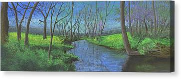 Spring Awakening II Canvas Print by Garry McMichael