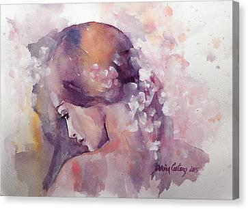 Spring Canvas Print by Dorina  Costras