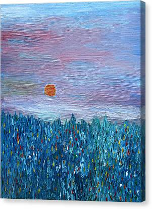 Spring Glimpse Canvas Print by Vadim Levin