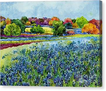 Spring Impressions Canvas Print by Hailey E Herrera
