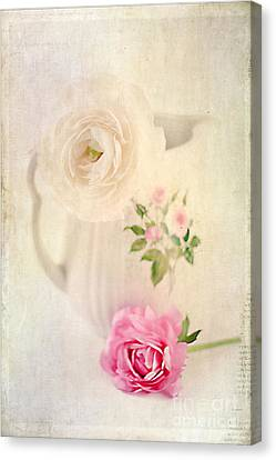 Spring Romance Canvas Print by Darren Fisher