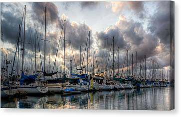 Spring Storm's Clearing Canvas Print by Heidi Smith