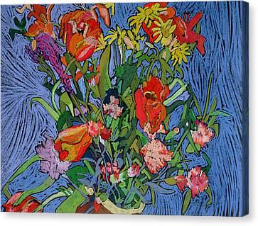 Spring Symphony Canvas Print by Frances Treanor