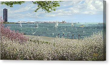 Spring Tidings Canvas Print by Doug Kreuger