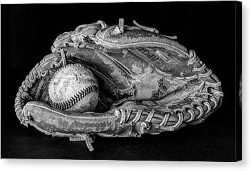 Spring Training Canvas Print by Jeff Burton