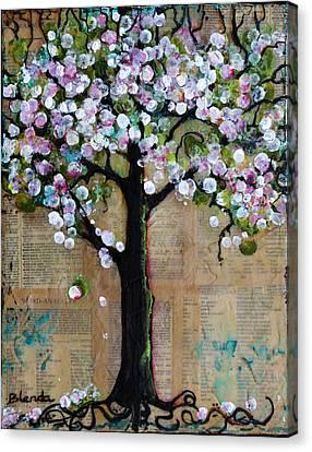 Spring Tree  Canvas Print by Blenda Studio