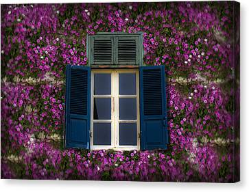 Spring Window Canvas Print by Radoslav Nedelchev