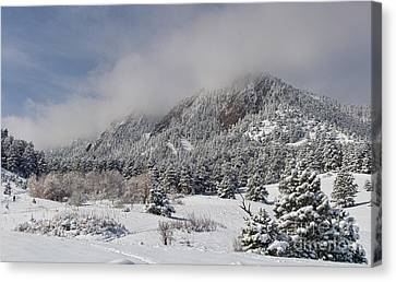 Springtime Colorado Rocky Mountains Boulder Canvas Print by James BO  Insogna