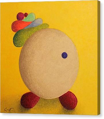 Spunky Canvas Print by Caren Kinne