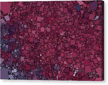 Square Universe Canvas Print by Steve K