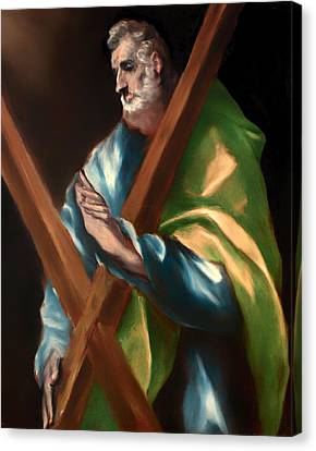St Andrew Canvas Print by Mountain Dreams