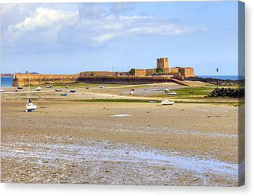 St Aubin's Fort - Jersey Canvas Print by Joana Kruse