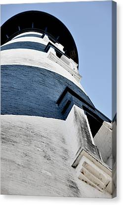 St Augustine Lighthouse - Angels And Ghosts Canvas Print by Christine Till