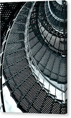 St Augustine Lighthouse Staircase Canvas Print by Christine Till