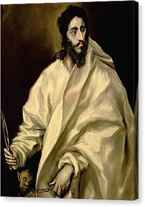 St Bartholomew Canvas Print by Celestial Images
