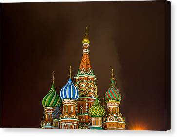 St Basil's Cathedral Canvas Print by Alexander Senin