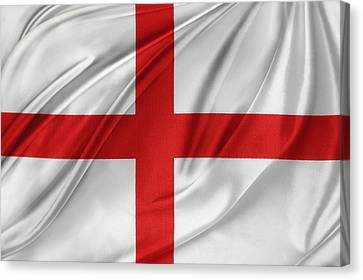 St George's Cross Canvas Print by Les Cunliffe