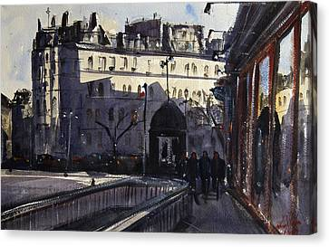 St Germain Des Pres Canvas Print by James Nyika