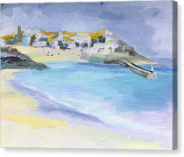 St Ives, Cornwall Canvas Print by Sophia Elliot