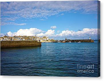 St Ives Cornwall Canvas Print by Terri Waters