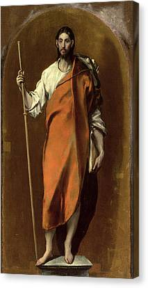 St James The Greater Canvas Print by Celestial Images