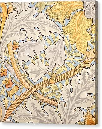 St James Wallpaper Design Canvas Print by William Morris