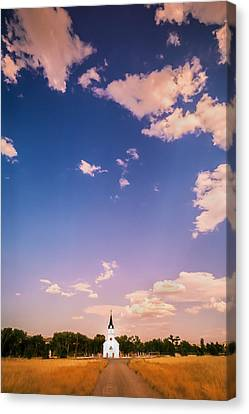 St John The Evangelist Catholic Church   Canvas Print by Rich Franco