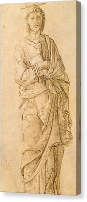 St. John The Evangelist Canvas Print by Italian School