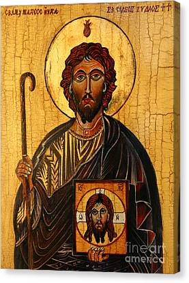 St. Jude The Apostle Canvas Print by Ryszard Sleczka