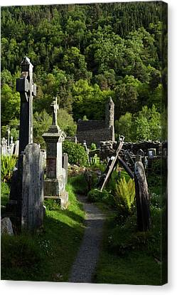 St Kevins Church Sometimes Called St Canvas Print by Panoramic Images