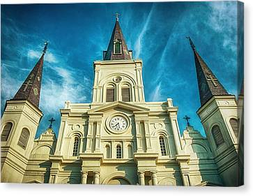 St. Louis Cathedral Canvas Print by Brenda Bryant