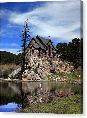 St. Malo Chapel Canvas Print by Shane Bechler