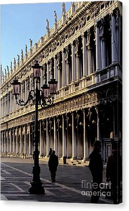 St. Mark's Square Venice Italy Canvas Print by Ryan Fox