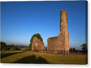 St Marys Augustinian Abbey, Ferns Canvas Print by Panoramic Images