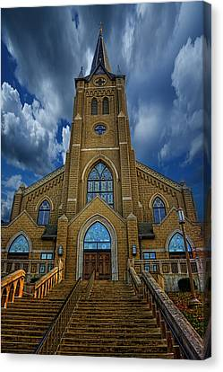 St. Mary's Cathedral  Canvas Print by Regina  Williams