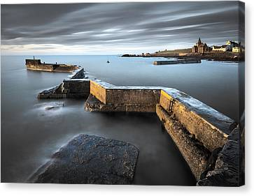 St Monans Dawn Canvas Print by Dave Bowman