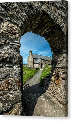 St Patrick Arch Canvas Print by Adrian Evans