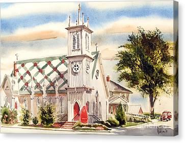 St. Pauls Episcopal Church II Canvas Print by Kip DeVore