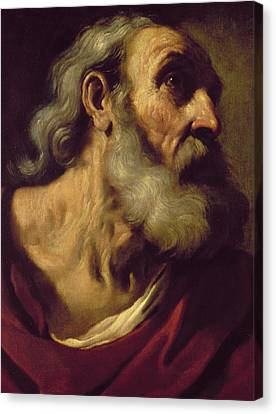 St. Peter Canvas Print by Guercino