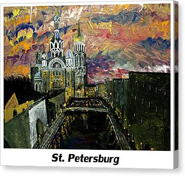 St  Petersburg Canvas Print by Mark Moore