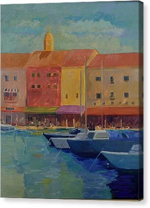 St. Tropez Canvas Print by Rhonda Brooks