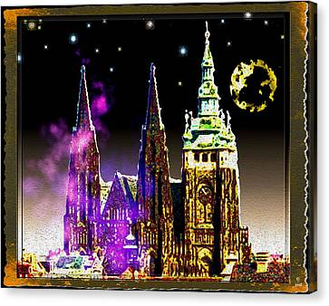 St. Vitus Cathedral Prague Canvas Print by Daniel Janda