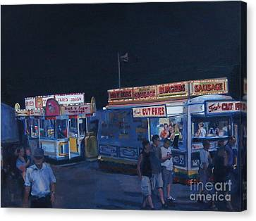 Stafford Night Canvas Print by Deb Putnam