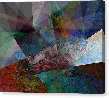 Stain Glass I Canvas Print by David Bridburg