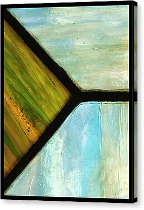 Stained Glass 6 Canvas Print by Tom Druin